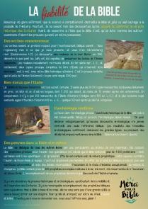 12 La fiabilité de la Bible
